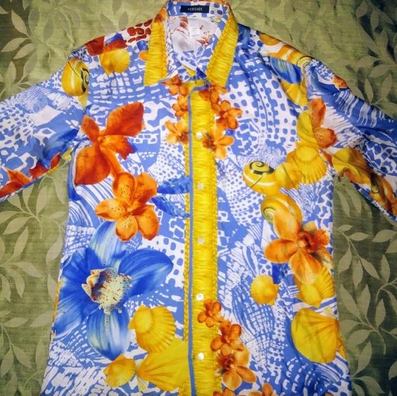 Versace Other - Gianni Versace Rare Vintage Silk Men's Shirt